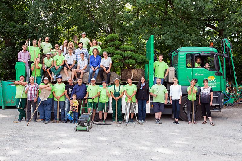 Das Team von GaLa Jung in Schwabach