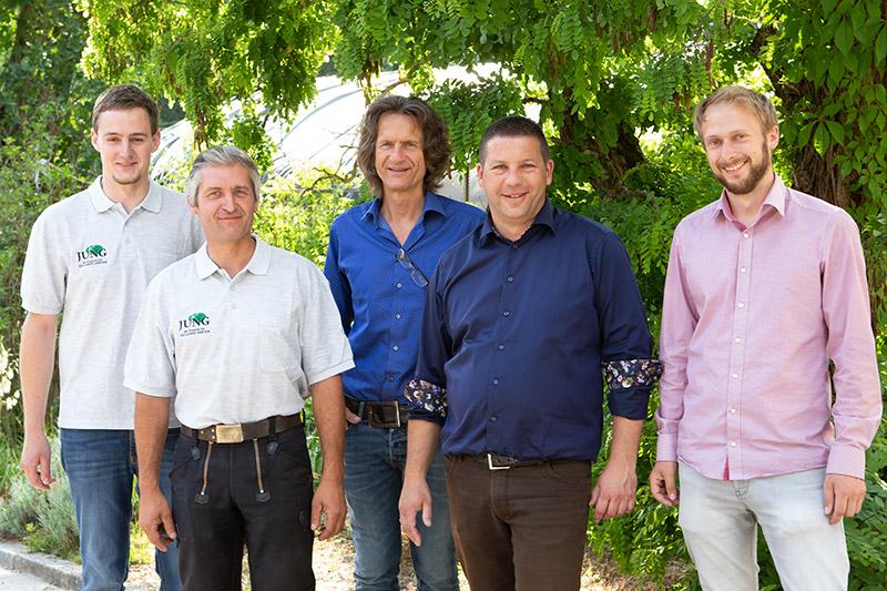 Team von Garten- & Landschaftsbau Jung