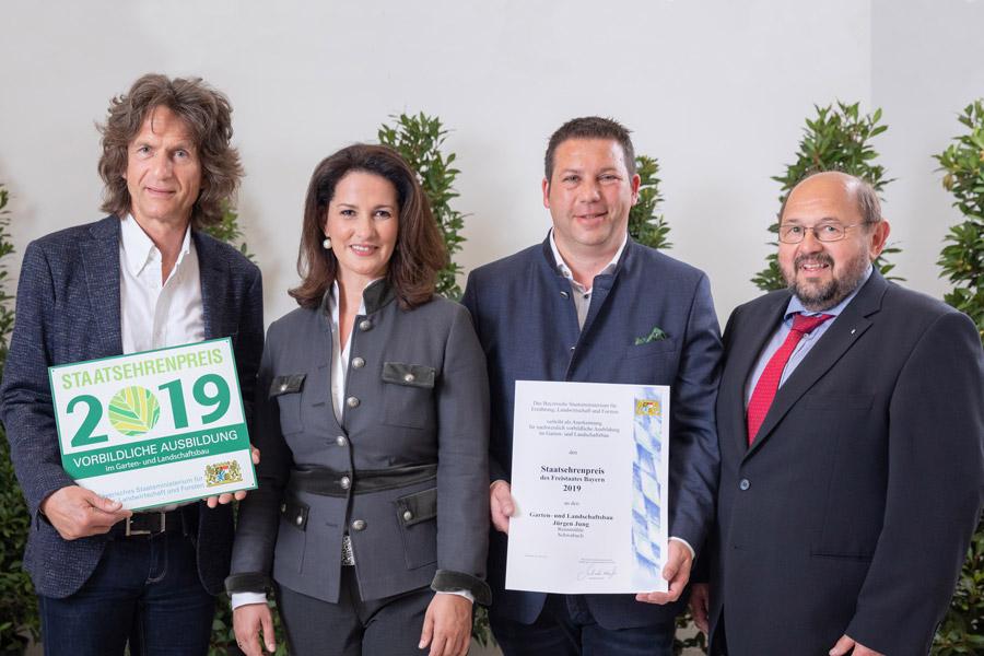 Bayerischer Staatsehrenpreis 2019