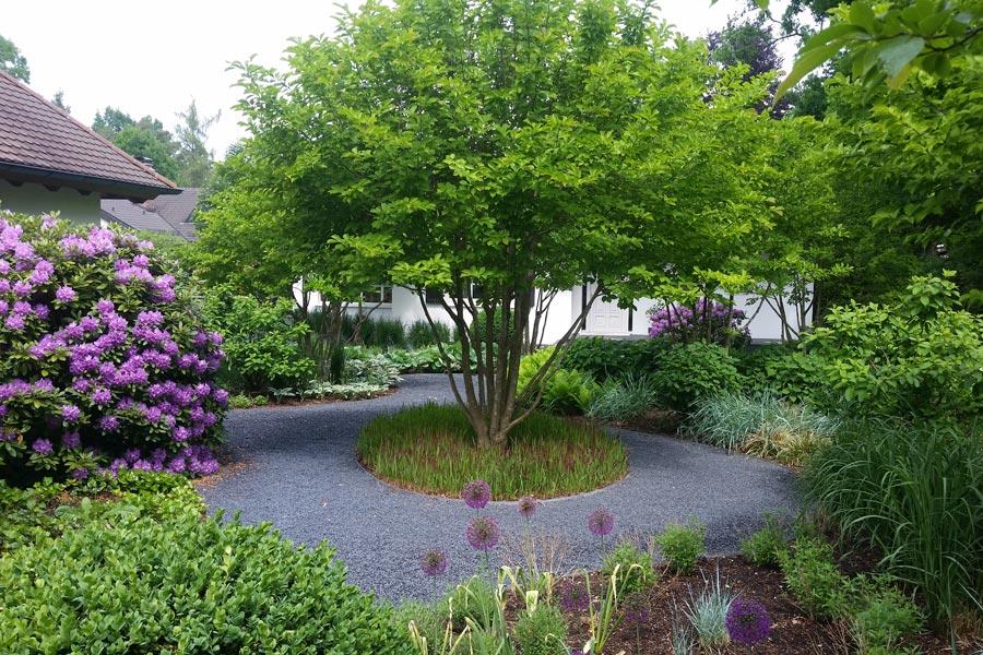 Privatgarten, gestaltet von GaLa Jung