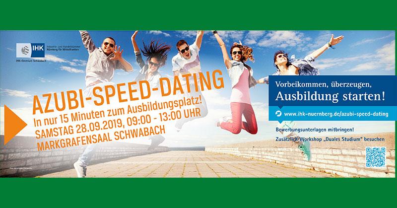 Azubi-Speed-Dating am 28.9.2019 in Schwabach
