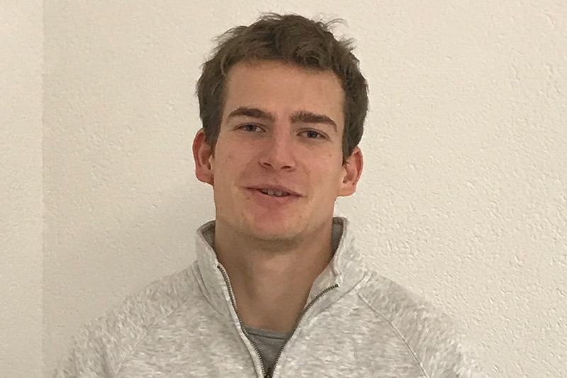 Azubi Niklas Mülheims