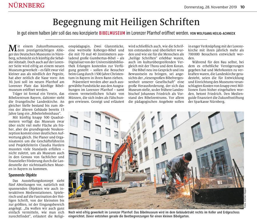 Nürnberger Zeitung - Artikel von Gala Jung