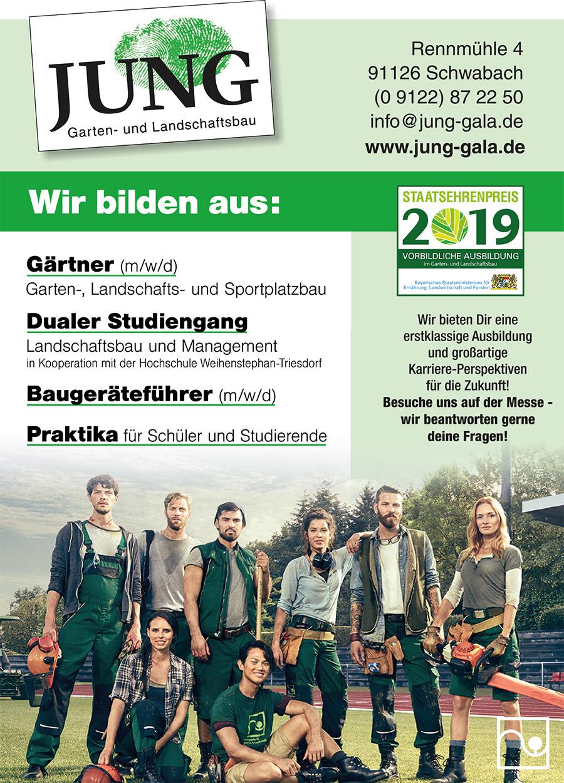 Ausbildung bei GaLa Jung in Schwabach
