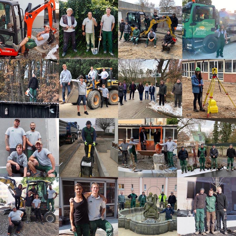 Team von Jung Garten- und Landschaftsbau