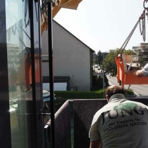 Mitarbeiter der Firma Jung in Schwabach