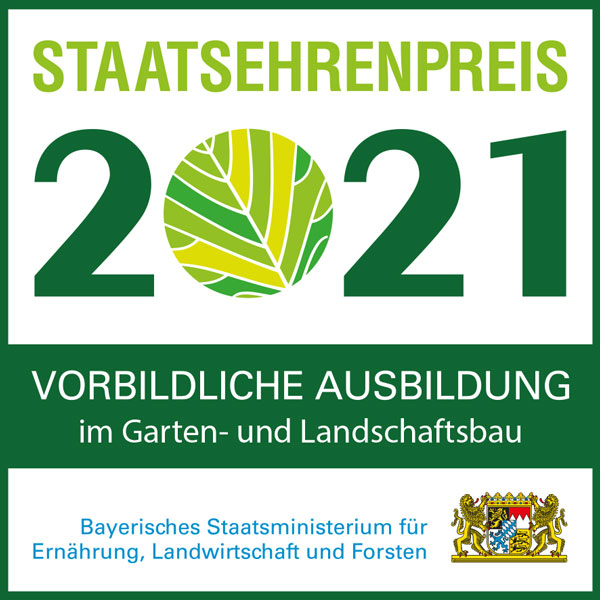 Staatsehrenpreis für Jung Garten- & Landschaftsbau